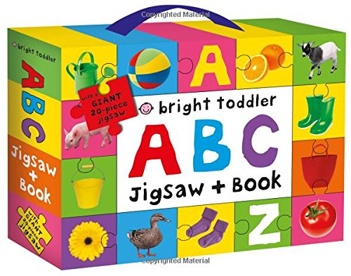 Bright Toddler ABC Jigsaw Book