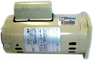 Pentair 355026S Almond 2 HP Single Phase Single Speed Square Flange Motor Replacement Pool and Spa Pump