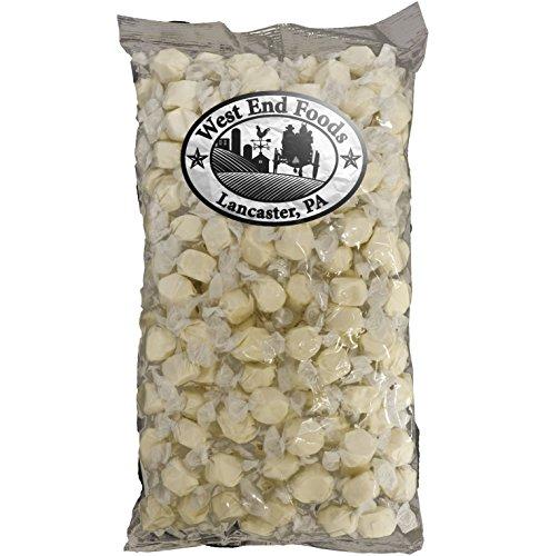 Vanilla Saltwater Taffy Bulk Candy (3 lb) ()