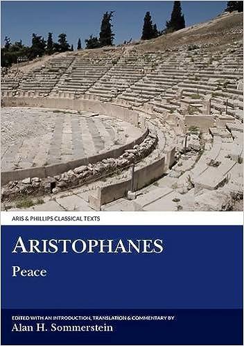 Aristophanes: Peace por Alan H. Sommerstein epub