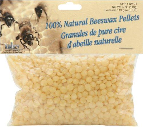 Yaley 100% Beeswax Pellets - 4 oz./Natural
