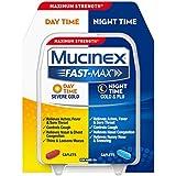 Mucinex Fast-Max Day/Night Severe Cold & Flu Caplets, 30ct