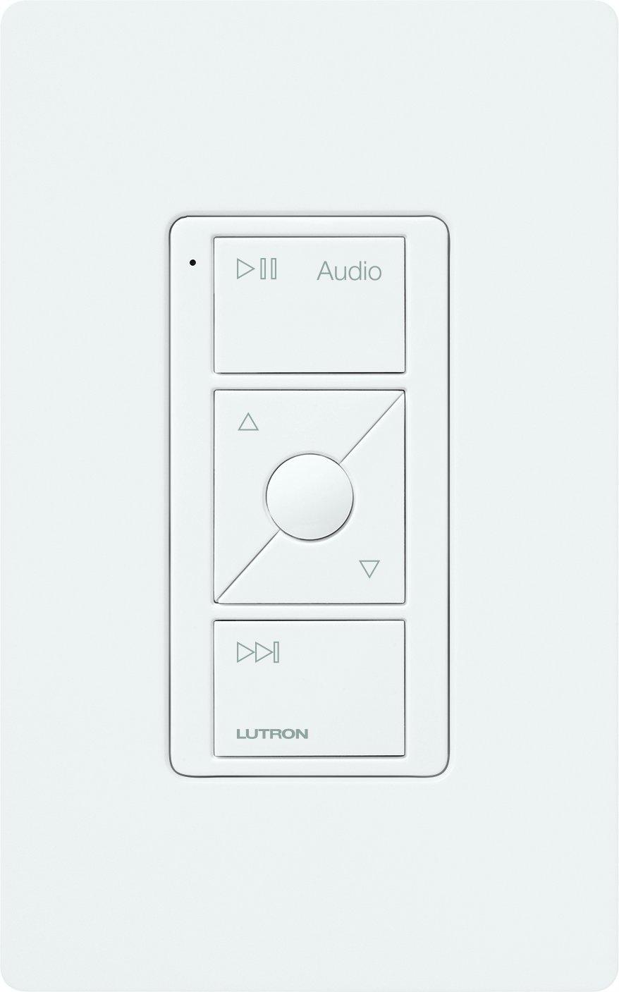 Lutron Caseta Wireless Pico Remote for Audio, Works with Sonos, PJ2-3BRL-GWH-A02, White by Lutron (Image #3)