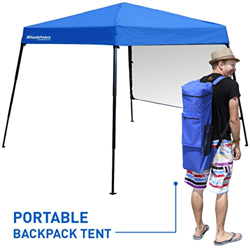 Portable Backpack Tent - 7'x7' Base with 6'x6' Awning Top...