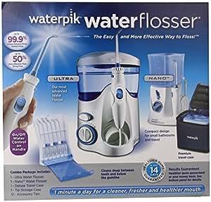 waterpik waterflosser ultra and waterpik traveler flosser plus 12. Black Bedroom Furniture Sets. Home Design Ideas