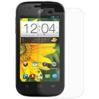 Amzer Kristal Clear Screen Protector Scratch Guard Shield for ZTE Savvy Z750C - Retail Packaging