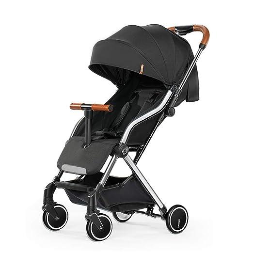 Cochecito de bebé reclinable ultraligero, plegable para recién ...