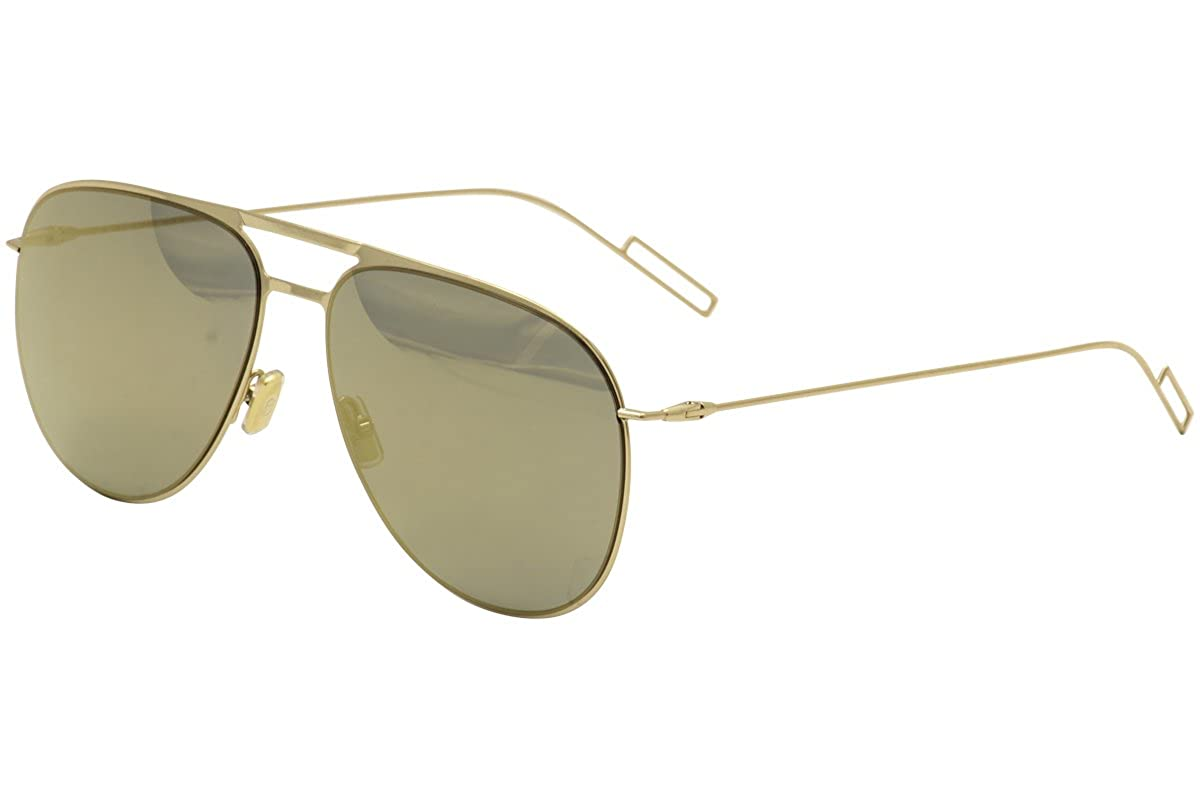 d5a988aac4 Amazon.com  Christian Dior 0205 S Sunglasses Gold   Bronze Mirror  Clothing