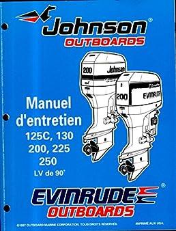 johnson outboards service manual 125c 130 200 225 250 90 lv rh amazon com johnson 90 hp v4 manual 1984 johnson 90 hp manual