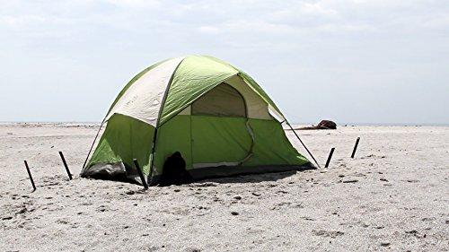 Beach N Sand Stake 4 Pack X 625in X 2in Super Tough No Rust Tent Portable Canopy Stake