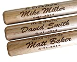 Personalized Mini Baseball Bat - Monogrammed and Engraved