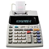 Sharp EL-1801V Portable 12-Digit 2-Color Compact Printing Calculator