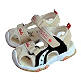 CYBLING Kids Sport Sandals Closed Toe Athletic Beach Shoes for Boys and Girls (Toddler/Little Kid)