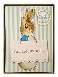 Meri Meri Party Invitations, Peter Rabbit - Boxed