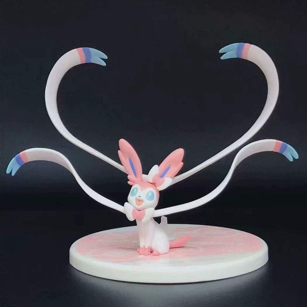 Anime Pokemon Serena Sylveon Eevee Collectable Sammlerstück Figuren Statue Toy