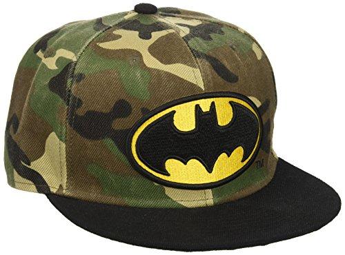 Batman Cap Bat camuflaje logo snapback sombrero gorra de estilo de DC Comics