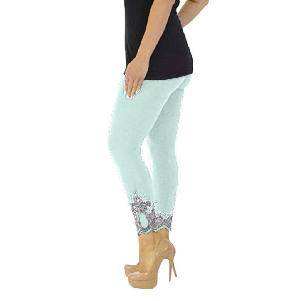 Womens White Capris, Workout Shorts for Women Neon,Women Sport Yoga Print Workout Mid Waist Running Pants Fitness Elastic Leggings