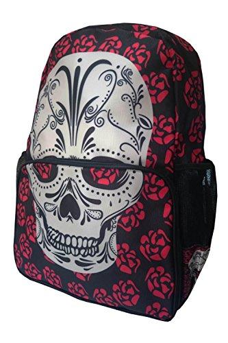 Banned Apparel 'Viera' Muerto Skulls & Roses Gothic Rucksack Backpack - Viera Bag