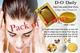 Pack of 2 Bars D-O Daily Whitening Pure Skincare Facial Gold Collagen Vitamin Soap Plus
