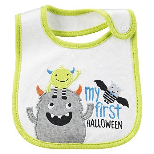 Just One Yo by Carter's Baby Boys' Novelty bibs (Happy Halloween) ()