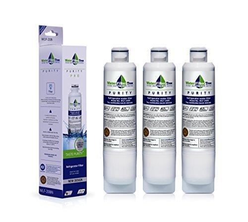 (DA29-00020B - Samsung Refrigerator Replacement Water Filter Compatible - WLF- 20B, also fits DA29-00020A, HAF-CIN EXP, 46-9101, Triple-pack)