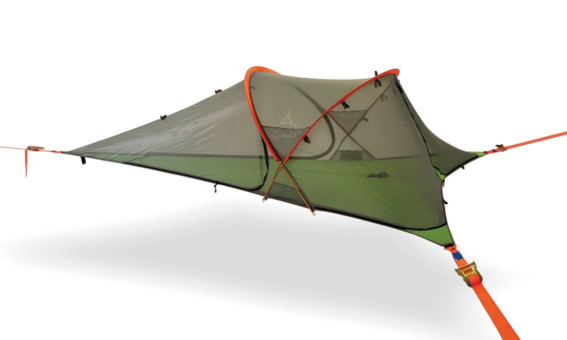 Tentsile Connect 2-Person All-Season Suspended Camping Tree Tent, Camouflage Rainfly
