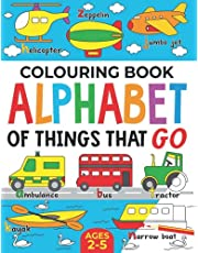 Colouring Book: Alphabet of Things That Go: Ages 2-5