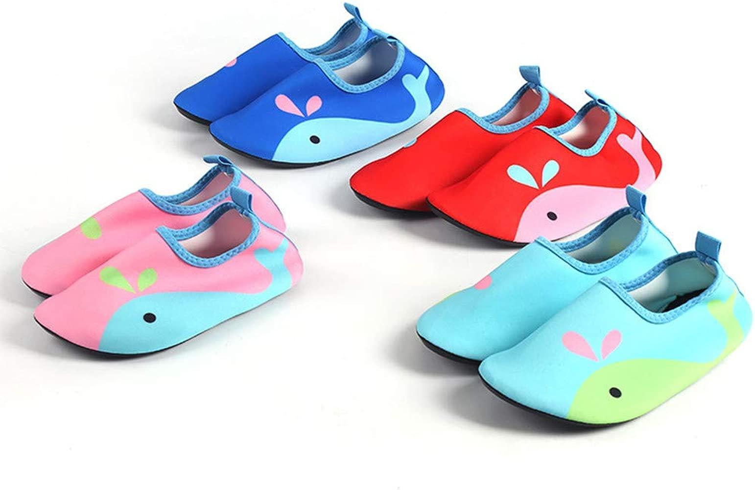 Qiiueen Zapatos De Agua,Pequeño Delfín Zapatos para Niños Pequeños ...