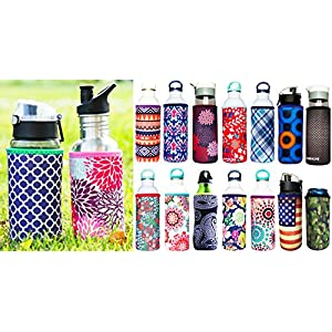 Koverz - #1 Neoprene 24-30 oz Water Bottle Insulator Cooler Coolie - Freshly Picked