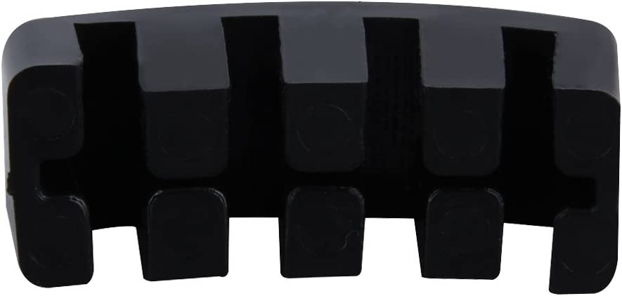 Top-spring Coating Black Coated Rubber Mute Heavy Rubber Cello Mute to Protect Your Bridge And Instrument