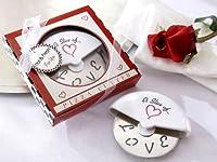 Der Pizzaschneider A slice of Love - Das romantische Pizzamesser