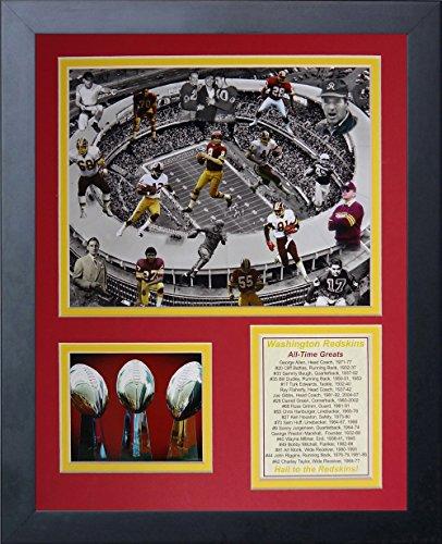 (Legends Never Die NFL Washington Redskins All Time Greats Collage Photo Frame, 12