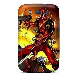 Samsung Galaxy S3 MCb1653vdbs Customized Lifelike Deadpool I4 Series Great Hard Phone Cases -TrevorBahri