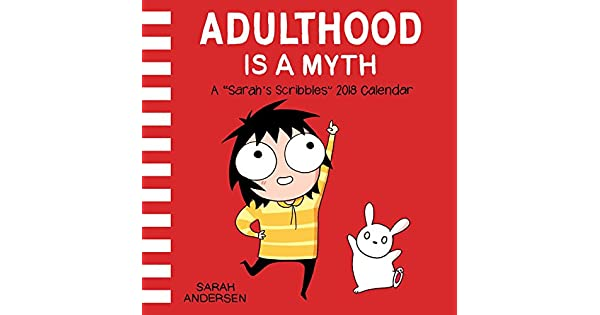 Amazon.com: Sarahs Scribbles 2018 Wall Calendar: Adulthood ...