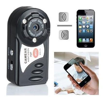 Agente007 - Micro Camara Espia Wifi P2P Vigila Bebes 480P Vision Nocturna Ir