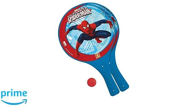 Spiderman Juego de Palas de Playa con Pelota (Mondo 15005): Amazon ...
