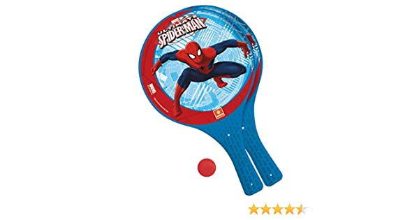 Spiderman Juego de Palas de Playa con Pelota (Mondo 15005): Amazon ...