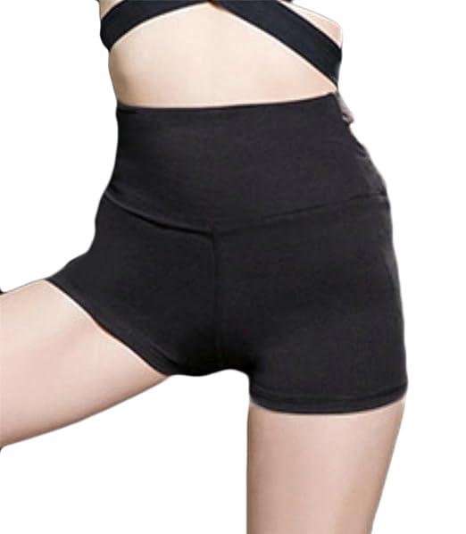 Etecredpow Women Elastic Waist Casual Summer Sport Yoga Stretch Shorts