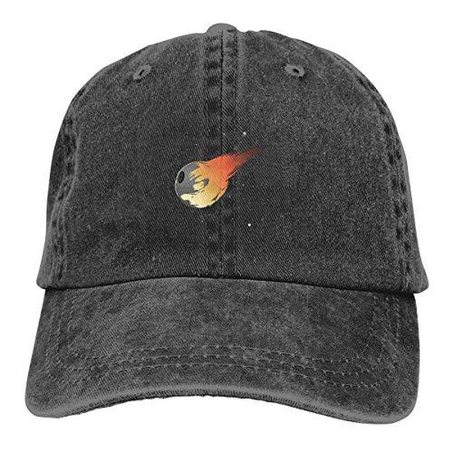 Longshun 100% Cotton Pigment Dyed Low Profile Dad Hat Final Empire Six Panel Cap Black