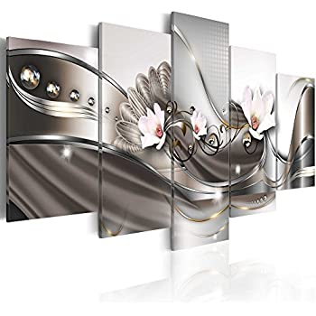 Canvas_Art_Design_2015 Home Decor Wall Art Canvas Print Abstract Flower Pictures for Living Room (A3, 20inch x 40inch)