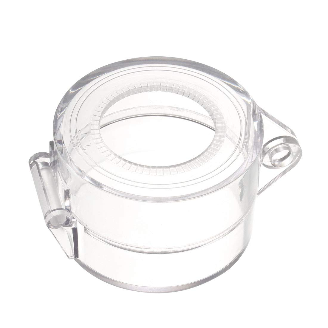 uxcell 2pcs Clear Plasatic Switch Cover Protector for 30mm Diameter Push Button Switch 5543