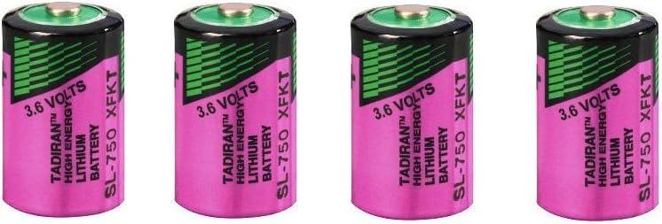 Tadiran Lithium Battery Sl 750 S With 3 6 V 4 Pieces Elektronik