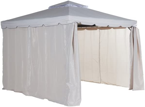 Siena Garden 506200 Pavillon Dubai 3x3m anthrazit//natur