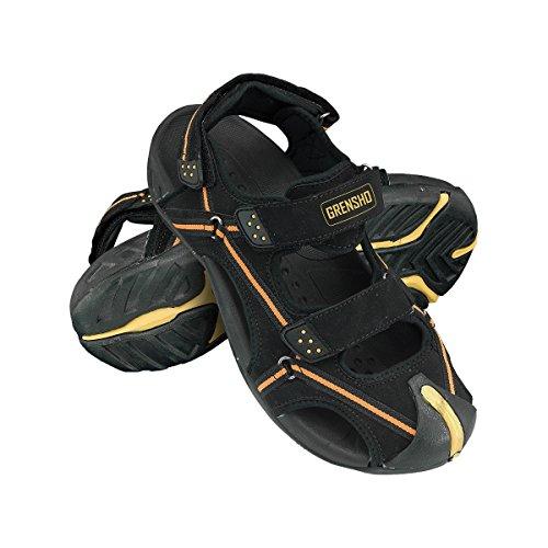 39 Sandalen 45 orange Herrenschuhe Sommerschuhe BKSBREAK Männer Schwarz Arbeitsschuhe Herren Schuhe E6wqFAdq