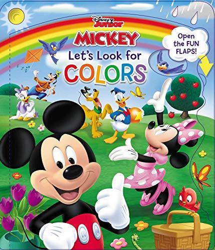 Disney Mickey & Friends Lets Look for Colors (Open Door Book) [Amerikaner, Susan] (Tapa Dura)