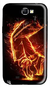 Michael Jackson Dancing Fire PC Hard new case for samsung galaxy note2