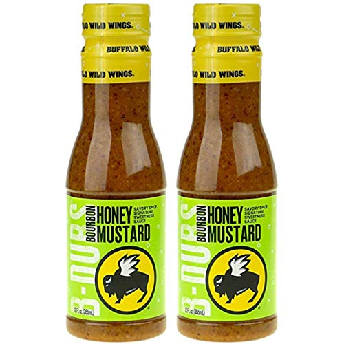 - Buffalo Wild Wings Barbecue Sauces, Spices, Seasonings and Rubs For: Meat, Ribs, Rib, Chicken, Pork, Steak, Wings, Turkey, Barbecue, Smoker, Crock-Pot, Oven (Bourbon Honey Mustard, (2) Pack)