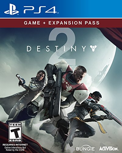 Destiny 2 - Game + Expansion Pass Bundle - PS4 [Digital Code] by Activision