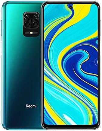 """Xiaomi Redmi Note 9S – Smartphone, 4 GB + 64 GB, 48 MP AI Quad Camera, 6.67""""FHD+ 5020mAh Typ18W, Alexa Hands-Free, Blu (Aurora Blue)"""