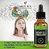 (2 Pack) Hemp Oil for Pain Relief Anxiety Sleep